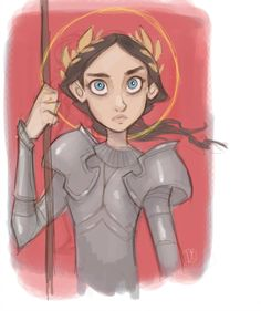 David Beauchene DaveJorel - Joan of Arc Joan D Arc, Saint Joan Of Arc, St Joan, Character Concept, Character Art, Concept Art, Character Design, Dark Fantasy, Fantasy Art