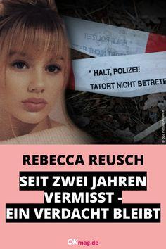 Am 18. Februar jährte sich zum zweiten Mal der Tag, an dem die 15-jährige Rebecca Reusch aus Berlin spurlos verschwand. Bis heute ist der Fall ungelöst — auch wenn nach wie vor ganz klar alle Indizien auf einen möglichen Täter hindeuten … #rebeccareusch #vermisst #crime #truecrime #vermisst #polizei #krimi #okmag Real Life, Berlin, Youtube, Miss You, February, Police, Youtubers, Youtube Movies