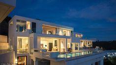 Located in Los Angeles, California, this Bel Air Estate offers opulent bathroom fixtures f...