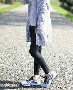Athleisure outfit ideas. | staying workout gear | how to workout in style | fashionable workout gear | leisure style and fashion | athleisure style | casual outfit ideas || Katie Did What