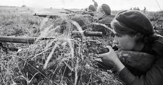 """The ranks of female sharpshooters included """"Lady Death,"""" one of the single deadliest snipers in history."""