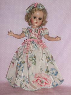 "c1930's 14"" R & B Nannette Doll - All Original"