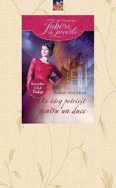 Sarah Maclean - Un Targ Potrivit Pentru Un Duce - The Rules of Scoundrels 3 Usa Today, Romantic, Cover, Books, Livros, Book, Slipcovers, Livres, Libros