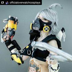 Roadhog  Credit @officialoverwatchcosplays  Roadhog  by @littlebirdcosplay  #cosplay #cosplaygirl #cosplayer #roadhog #overwatchwaifu #waifu #scrapgun #followme #handmade #overwatch #overwatchcosplay #overwatchroadhog #overwatchcosplayer #overwatchxbox #gamergirls #gamergirl #cosplaylife #pax #paxsouth #pax2017 #paxsouth2017