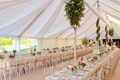 Some weddings are larger than others and we have the marquee hire solution