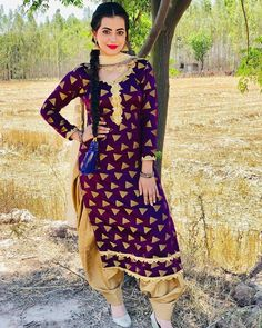 Punjabi Girls, Punjabi Suits, Salwar Suits, Patiala Salwar, Kurti, Stylish Suit, Stylish Girl, Punjabi Models, Saree Styles