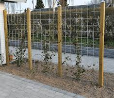 39 Home Privacy Fence for Patio Backyard Landscaping Ideas fence fikriansyahnet home ideas landscaping patio privacy # Trellis Fence, Diy Trellis, Garden Trellis, Garden Fencing, Trellis Ideas, Privacy Trellis, Garden Art, Grape Vine Trellis, Clematis Trellis