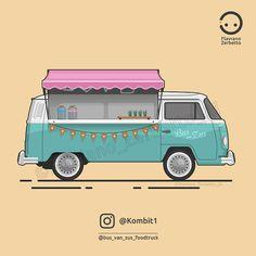 KombiT1: VW T2 @bus_van_zus_foodtruck
