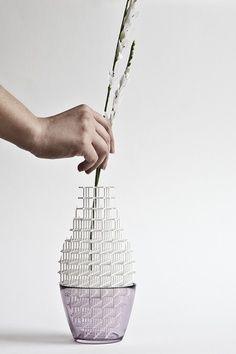 3D printed vase.