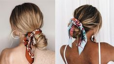 Bruna Ribeiro: CABELO: PENTEADOS COM LENÇOS Hairstyle, Beauty, Hairstyles With Scarves, Different Hairstyles, Horse Tail, Hair Type, Hair Down Hairstyles, Beleza, Hair Style