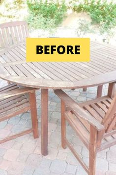 Check out these DIY home improvement ideas for your patio porch and outdoor space. Perfect if you're on a budget these easy and cheap outdoor projects will make being outside this summer more awesome. #diy #outdoor #backyard Budget Home Decorating, Decorating Blogs, Upcycled Furniture, Diy Furniture, Garden Furniture, Handmade Home Decor, Diy Home Decor, Before After Furniture, Outdoor Projects