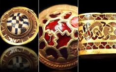 Staffordshire hoard, a phenomenal trove of Anglo Saxon artefacts.