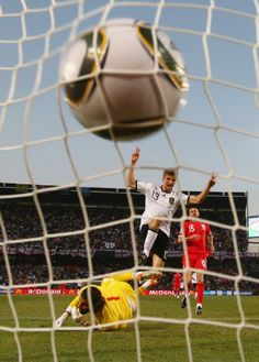 Muller goal #Germany #England #SouthAfrica2010
