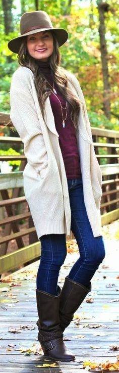 White Long Line Cardigan by For All Things Lovely