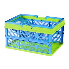 Highlights  Space-saving solution that combines packing, transport and storage into one reusable, collapsible container. Features a sturdy bottom base with open