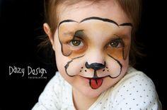 216 Best A Face Paint Dogs Images Body Paint Painted Faces