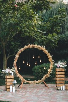diy rustic wedding arch ideas with lanterns wedding decor style 34 Chic Wedding Decoration Ideas with Lanterns on A Budget Wedding Arch Rustic, Chic Wedding, Wedding Ceremony, Dream Wedding, Wedding Summer, Rustic Theme, Wedding Hacks, Wedding Table, Backdrop Wedding
