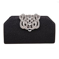 Fawziya Bling Crown Clutches Purses Purses And Handbags For Womens Clutch Bags-Black >>> Find out @
