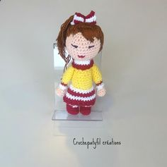 Crochepatyfil créations: mini poupee miss Carembar