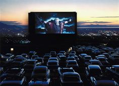 The drive-in theater.   What a loss for these to have died out.
