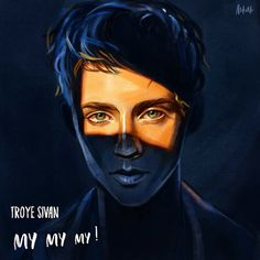 "1,023 Me gusta, 155 comentarios - Arthur Shahverdyan (@arthurshahverdyanart) en Instagram: ""Oh my, my, my I die every night with you ✨Please tag @troyesivan ✨ - - - #troyesivan #mymymy #art…"""