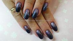 navy+blue+gel+polish+25+with+purple+glitter+pigment+fade