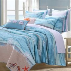Coastal Bedding And Beach Bedding Sets | Beach Themed Bedding | Pinterest |  Coastal Bedding, Beach Bed And Bedding Sets