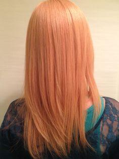 Soft Peach Hair