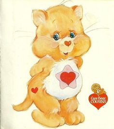 Care Bears Cousins - Proud Heart Cat