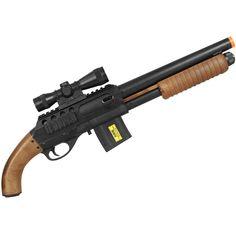 Rifle Airsoft Spring Shotgun Cybergun Smith & Wesson M3000 - Preto Ref.:BJI-0026-006-01  Rifle Airsoft Spring Shotgun Cybergun Smith & Wesson M3000. O Rifle Airsoft modelo M3000 é uma Shotgun produzida pela Cybergun que leva a marca da Smith & Wesson. Smith Wesson, Shotgun, Airsoft, Hand Guns, Armour, War, Spring, Shopping, Firearms