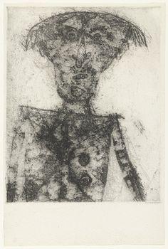 Jean Dubuffet. Jean Paulhan. (1946)
