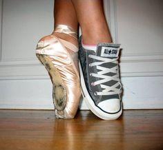 dance ballet shoes converse pointe