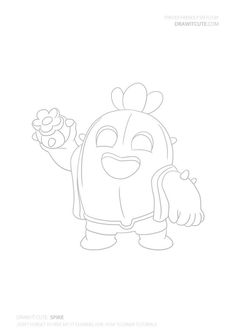How To Draw Frank From Brawl Stars ★ Cute Easy Drawings