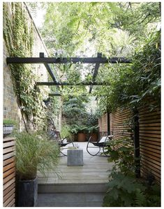 Small Courtyard Gardens, Small Courtyards, Back Gardens, Small Gardens, Outdoor Gardens, Courtyard Design, Courtyard Ideas, Courtyard Landscaping, Outdoor Patios