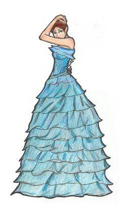 Pretty Dresses, The Selection, Singer, America, Disney Characters, Ash, Blade, Deviantart, Gray