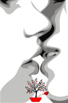 Láska je iluze, nádherná iluze... Iluze je to, čemu věříme, že právě prožíváme ;) Friendship Art, Sweet Kisses, Feelings, Abstract, Artwork, Summary, Work Of Art, Auguste Rodin Artwork