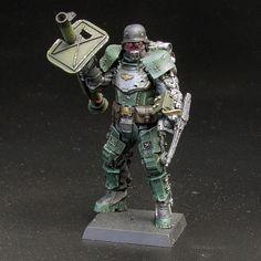 Unpainted unassembled mini figure miniature toy model kit: 1/35 heavy armored #Unbranded