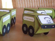 Milk Carton Truck