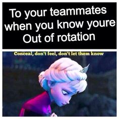 Volleyball and Frozen.... the only thing that is better is volleyball and Frozen AND LORD OF THE RINGS.