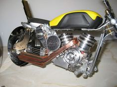 Artist Makes Realistic Vehicles Out of Used Computer Parts