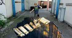 street art so incredible you could mistake it as real. Everything is better with art. Amazing street art that will blow you away.