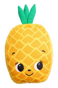 Pinapple pillow • Coussin en forme d'ananas (Pineapple cushion)