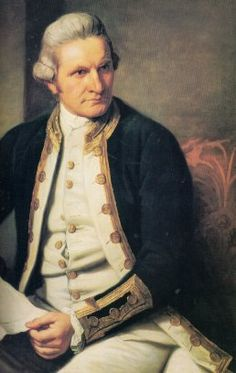 On this day the birth of Captain James Cook, English naval officer and one of the greatest navigators in history. His voyages in the Endeavour led to the European discovery of Australia, New Zealand and the Hawaiian Islands. Scouts, Captain James Cook, First Fleet, Canadian History, Tall Ships, Royal Navy, History Facts, World History, Famous People