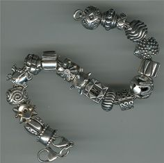 "Re-Pinning this silver beauty: ""My Trollbeads Bracelet by Beth Singleton, via Flickr"""