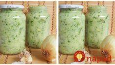 Domáce korenie do polievok, omáčok aj pod mäso! Korn, Pesto, Preserves, Pickles, Cucumber, Mason Jars, Food And Drink, Homemade, Gummi Candy