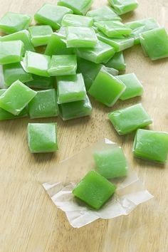Wilde in the Kitchen: Sour Apple Fruit Chews - kids would love to help with this one.