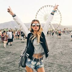 cute festival style. love this coachella outfit