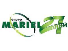 Logotipo Grupo Mariel - Transporte Rodoviário, Carga LTL e DTA Hubport - FIRE Mídia - Agência de Publicidade em Santos-SP !