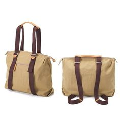 The new simple ziptote with simple-strap-system from Qwstion. Artistic Installation, Classic Style, Camel, Organic Cotton, Backpacks, Simple, Baby, Camels, Backpack