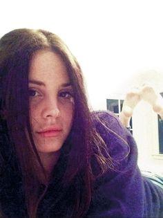 "Lana Del Rey's selfie for the German ""Intro"" Magazine #4"